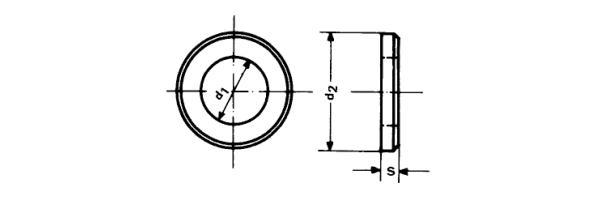 DIN  125 Form B