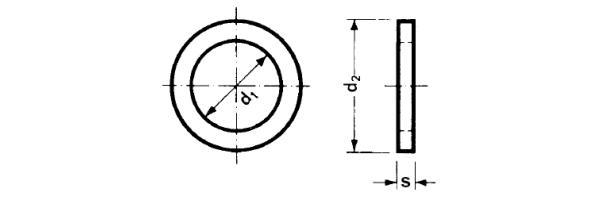 DIN  433 für Zylinderschrauben