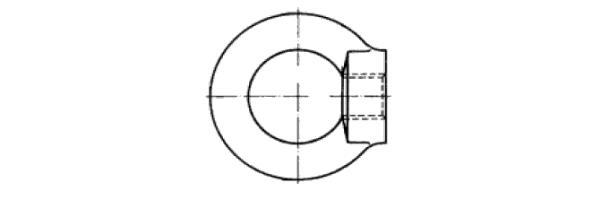 DIN  582 Ringmutter oder ähnlich