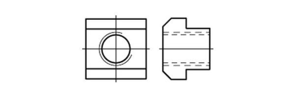 DIN  508 T-Nutensteine