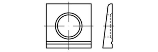 DIN 6917 4KT-Scheibe für HV
