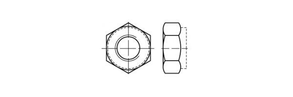 ISO 10513 Klemmteil, Feingew