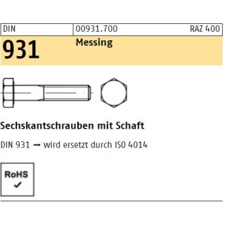 DIN 931 Messing