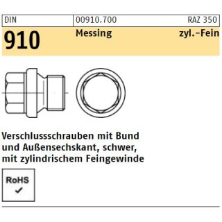 DIN 910 Messing